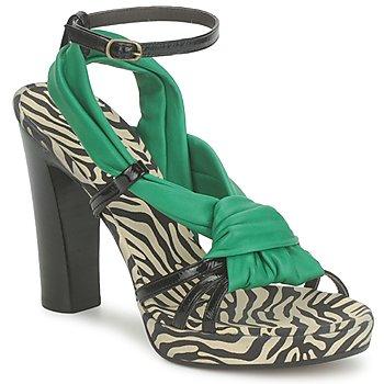 鞋子 女士 凉鞋 Michel Perry 12709 绿宝石色