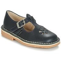鞋子 兒童 平底鞋 Aster DINGO 海藍色