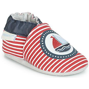 鞋子 男孩 拖鞋 Robeez MY CAPTAIN 红色 / 蓝色 / 白色