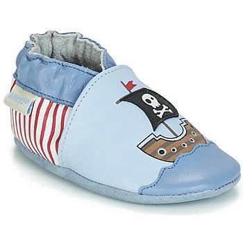 鞋子 男孩 儿童拖鞋 Robeez PIRATE'S BOAT 蓝色