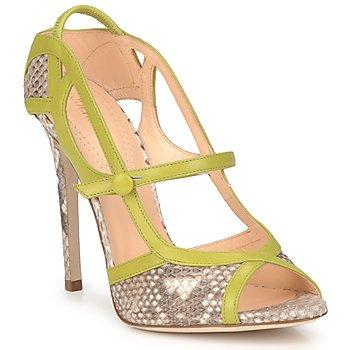 鞋子 女士 凉鞋 Roberto Cavalli 罗伯特·卡沃利 RPS678 Python / 绿色