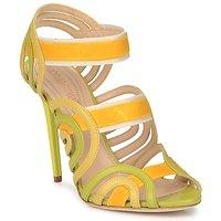 鞋子 女士 凉鞋 Roberto Cavalli 罗伯特·卡沃利 RPS691 绿色 / 黄色