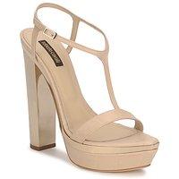 鞋子 女士 凉鞋 Roberto Cavalli 罗伯特·卡沃利 RDS735 米色 / 裸色