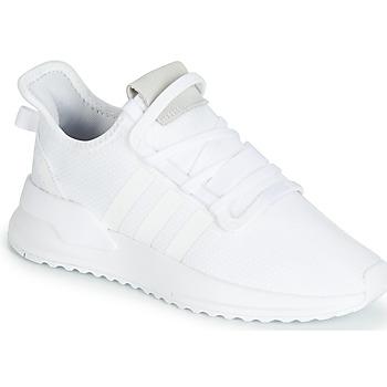 鞋子 球鞋基本款 Adidas Originals 阿迪达斯三叶草 U_PATH RUN 白色
