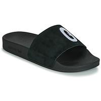鞋子 女士 休闲凉拖/沙滩鞋 Adidas Originals 阿迪达斯三叶草 ADILETTE W 黑色