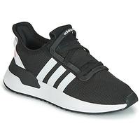 鞋子 儿童 球鞋基本款 Adidas Originals 阿迪达斯三叶草 U_PATH RUN J 黑色
