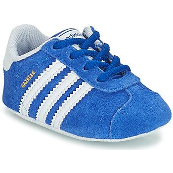 鞋子 儿童 球鞋基本款 Adidas Originals 阿迪达斯三叶草 GAZELLE CRIB 蓝色