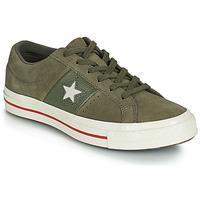 鞋子 女士 球鞋基本款 Converse 匡威 ONE STAR CUIR FASHION BALLER SUEDE OX 卡其色