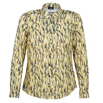 衣服 女士 衬衣/长袖衬衫 One Step MONICA 黄色