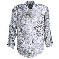 衣服 女士 衬衣/长袖衬衫 Ikks BN12085-11 白色 / 黑色