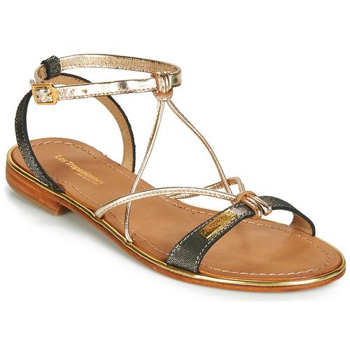 鞋子 女士 凉鞋 Les Tropéziennes par M Belarbi HIRONDEL 黑色 / Irisé