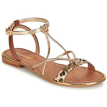 鞋子 女士 凉鞋 Les Tropéziennes par M Belarbi HIRONDEL Leopard / 金色