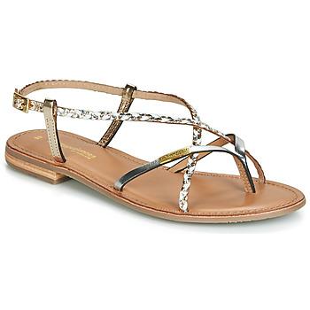 鞋子 女士 凉鞋 Les Tropéziennes par M Belarbi MONATRES 白色 / 金色