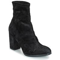 鞋子 女士 短靴 Caprice  黑色 / 天鹅绒