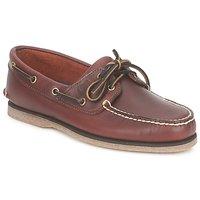 鞋子 男士 船鞋 Timberland 添柏嵐 CLASSIC 2 EYE 棕色