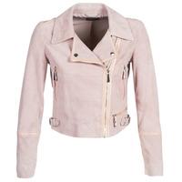 衣服 女士 皮夹克/ 人造皮革夹克 Guess JUNKO 玫瑰色