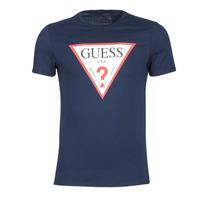 衣服 男士 短袖体恤 Guess ORIGINAL 海蓝色