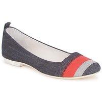 鞋子 女士 平底鞋 Marithé & Francois Girbaud BRUMES 蓝色