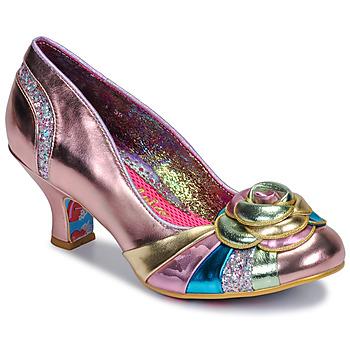 鞋子 女士 高跟鞋 Irregular Choice STUPENDA 玫瑰色