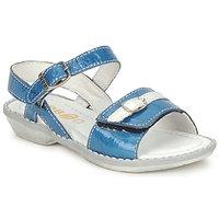 鞋子 女孩 凉鞋 GBB CARAIBES FIZZ 蓝色 / 白色