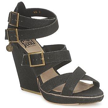 鞋子 女士 凉鞋 Feud WASP 黑色