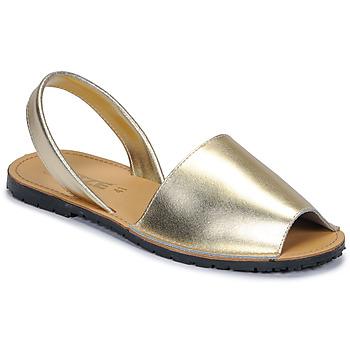 鞋子 女士 涼鞋 So Size LOJA 金色