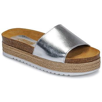 鞋子 女士 休閑涼拖/沙灘鞋 So Size JITRUNE 銀灰色