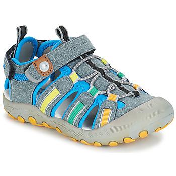 鞋子 男孩 運動涼鞋 Gioseppo 43008 灰色 / 多彩