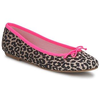 鞋子 女士 平底鞋 Cara NEONLEOPARD Leopard