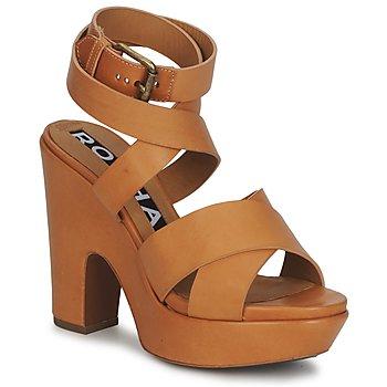鞋子 女士 凉鞋 Rochas 巴黎罗莎 RO18082 棕色