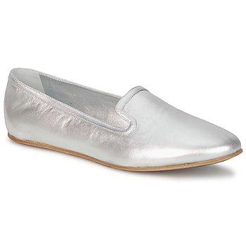 鞋子 女士 皮便鞋 Rochas 巴黎罗莎 RO18101 银灰色