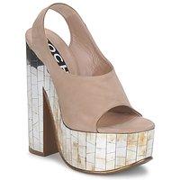 鞋子 女士 凉鞋 Rochas 巴黎罗莎 RO18175 Tabacco