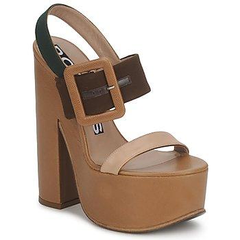 鞋子 女士 凉鞋 Rochas 巴黎罗莎 RO18231 棕色 / 米色