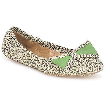 鞋子 女士 平底鞋 Maloles BLANCHE 黑色 / 白色 / 绿色