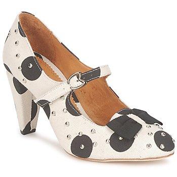 鞋子 女士 高跟鞋 Maloles CLARITA 白色 / 黑色