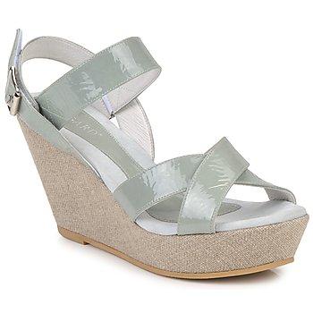 鞋子 女士 凉鞋 Regard RAGA 绿色 / Pale