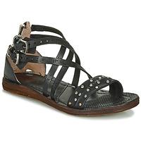 鞋子 女士 涼鞋 Airstep / A.S.98 RAMOS CLOU 黑色