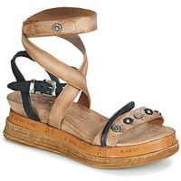 鞋子 女士 凉鞋 Airstep / A.S.98 LAGOS 米色 / 黑色