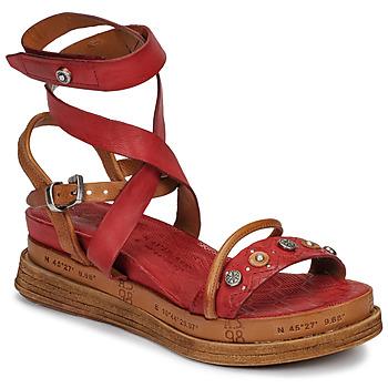 鞋子 女士 涼鞋 Airstep / A.S.98 LAGOS 紅色