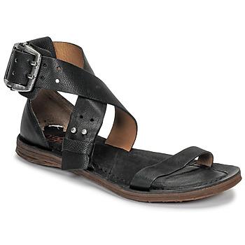 鞋子 女士 涼鞋 Airstep / A.S.98 RAMOS CROISE 黑色