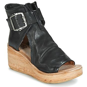 鞋子 女士 涼鞋 Airstep / A.S.98 NOA BUCKLE 黑色