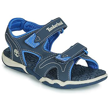 鞋子 兒童 涼鞋 Timberland 添柏嵐 ADVENTURE SEEKER 2 STRAP 藍色