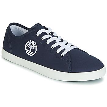 鞋子 儿童 球鞋基本款 Timberland 添柏岚 NEWPORT BAY CANVAS OX 蓝色