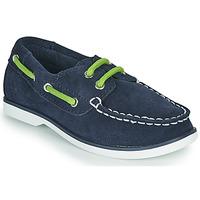 鞋子 儿童 船鞋 Timberland 添柏岚 SEABURY CLASSIC 2EYE BOAT 黑色