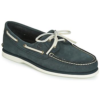 鞋子 男士 船鞋 Timberland 添柏岚 CLASSIC BOAT 2 EYE 灰色