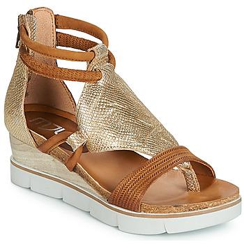鞋子 女士 凉鞋 Mjus TAPASITA 金色 / 驼色