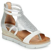 鞋子 女士 凉鞋 Mjus TAPASITA 白色 / 银灰色