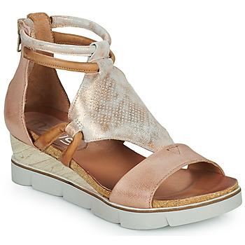 鞋子 女士 凉鞋 Mjus TAPASITA 玫瑰色 / 金色