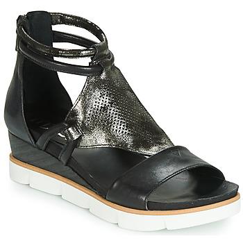 鞋子 女士 凉鞋 Mjus TAPASITA 黑色 / 金属光泽