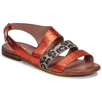 鞋子 女士 凉鞋 Mjus CHAT BUCKLE 红色 / Leopard
